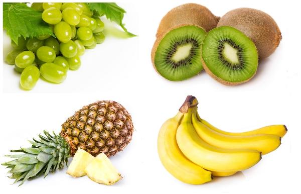 ovoce na dietu modelek