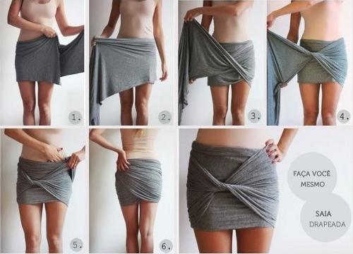 šátek jako sukně